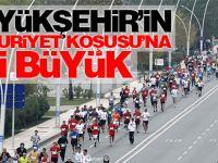 Büyükşehir'in Cumhuriyet Koşusu'na ilgi büyük