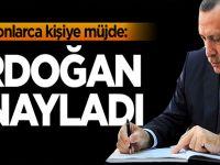Milyonlarca kişi bekliyordu: Erdoğan onayladı