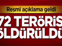 772 DEAŞ'lı terörist öldürüldü