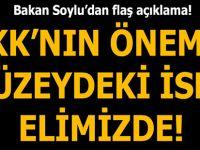 Bakan Soylu: Elimizde PKK'nın önemli düzeydeki yöneticisi var