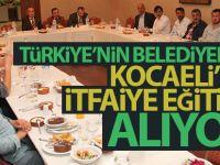 Türkiye'nin belediyeleri Kocaeli'de itfaiye eğitimi alıyor