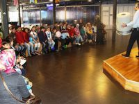 Suriyeli çocuklar, Bilim Merkezi'nde atölye çalışmalarına katıldı
