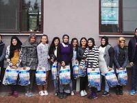 Misafir öğrencilere deprem eğitimi