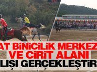 At Binicilik Merkezi Ve Cirit Alanı Açılışı Gerçekleştirildi