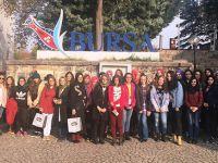 Akademi Lise öğrencileri Bursa'da inceleme gezisine katıldı