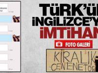 Türk'ün İngilizce'yle İmtihanı