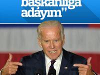 Joe Biden başkan adayı olacağını açıkladı