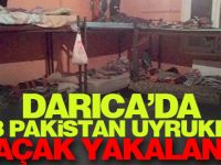 Darıca'da 88 Pakistan uyruklu kaçak yakalandı