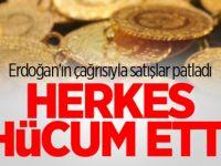 Erdoğan'ın çağrısıyla satışlar patladı