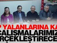AKP yalanlarına karşı çalışmalarımızı gerçekleştireceğiz