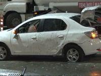 İstanbul'da otomobile el bombası atıldı