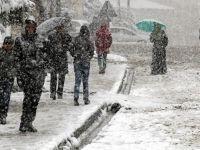 4 ilde kar yağışı bekleniyor