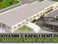 Çayırova'nın 2. Kapalı Semt Pazarı Akse Mahallesinde İnşa Ediliyor
