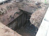Köylüler yanlışlıkla 1000 yıllık mezar buldu!