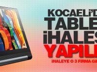 6. sınıflara dağıtacağı tablet bilgisayarlar için ilahe düzenlendi