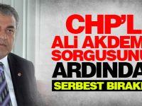 CHP'li Ali Akdemir sorgusunun ardından serbest bırakıldı
