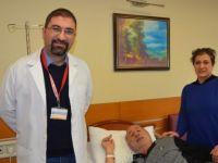 Kalp krizi geçirdi hayatı kurtuldu
