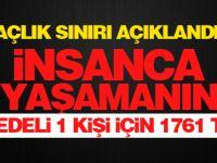 Türk-İş araştırmasına göre açlık ve yoksulluk sınırları açıklandı!