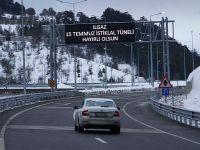 Sürücüler 'Ilgaz Tünel'inden çok memnun
