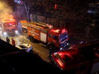 Bursa'da iş yerinde yangın