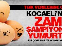 TÜİK verilerine göre Kocaeli'de zam şampiyonu yumurta oldu
