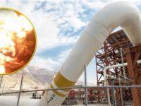 İran'da petrol boru hattına saldırı!