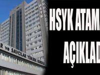 HSYK Atamaları Açıkladı
