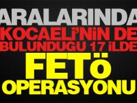 Sakarya merkezli FETÖ operasyonu Kocaeli'ye sıçradı