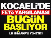Kocaeli'de FETÖ duruşmaları bugün başlıyor