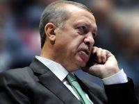 Erdoğan Kırgız lideri aradı