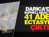 Darıca'da şüpheli araçtan uyuşturucu madde ve 1 av tüfeği çıktı
