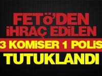 Kocaeli'de FETÖ'den ihraç edilen 3 Komiser, 1 Polis tutuklandı