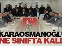 ''Karaosmanoğlu Yine Sınıfta Kaldı''