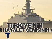 Türkiye'nin yeni hayalet gemisinin adı TCG İZMİT