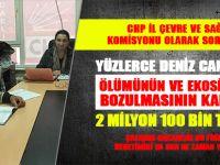 CHP İl Çevre ve Sağlık Komisyonu olarak soruyoruz!