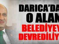 Fikri Işık açıkladı: Darıca'daki o alan belediyeye devrediliyor