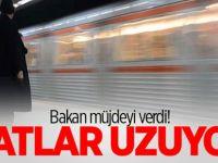 Bakan Arslan demiryolları hatlarının uzayacağını açıkladı!