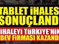 Tablet İhalesini Türkiye'nin Dev Firması Kazandı