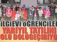 Çayırova Belediyesi Bilgievi Öğrencileri Yarıyıl Tatilini Dolu Dolu Geçiriyor