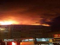 Bayramoğlu'ndaki yangın korkuttu