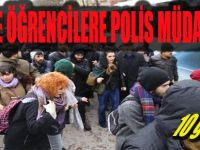 Koü'de Öğrencilere Polis Müdahalesi