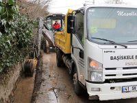 Yağmur suyu kanallarında genel temizlik
