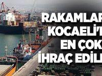 Rakamlarla Kocaeli'de ithalat ve ihracat