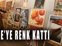 KO-MEK'in sergisi Gebze'ye renk kattı