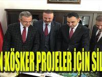 Balkan Köşker Projeler İçin Silvan'da