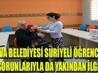 Çayırova Belediyesi Suriyeli Öğrencilerin Sağlık Sorunlarıyla da Yakından İlgileniyor