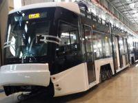 Tramvay aracı testlerden başarıyla geçiyor