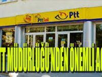 Gbeze PTT Müdürlüğü'nden Önemli Açıklama
