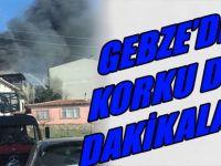 Gebze'de Korku Dolu Dakikalar!