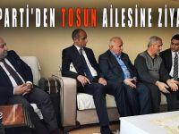 AK Parti'den Tosun ailesine ziyaret